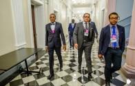 Conférencier à Washington, The White House