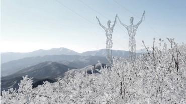Des géants électriques à la place de pylônes électriques