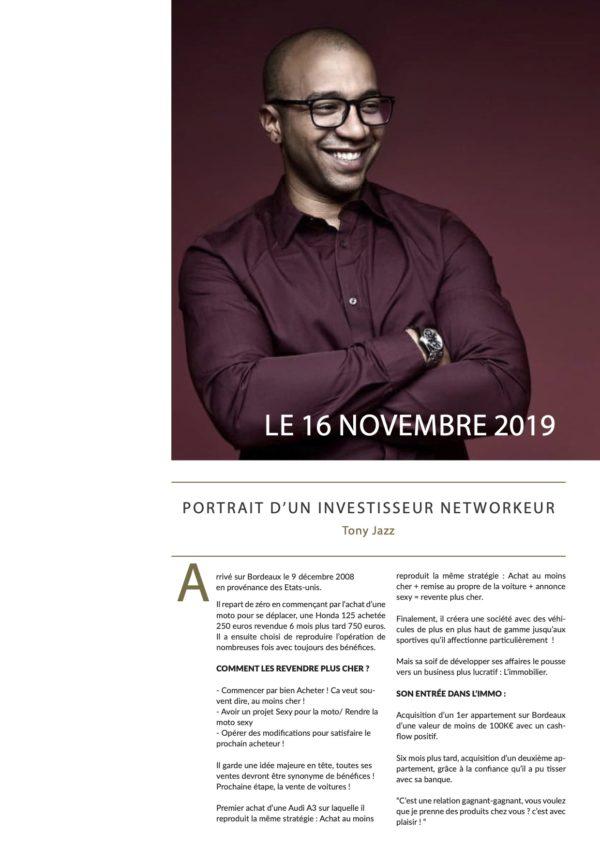 Immobilier luxe Bordeaux Tony Jazz